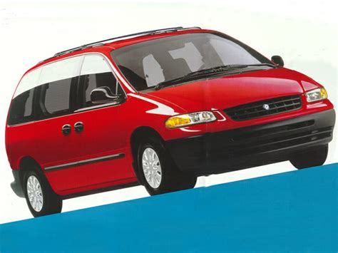 1998 plymouth voyager overview cars com
