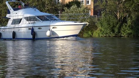 thames river cruise surrey staines middlesex surrey england august 15th 2014