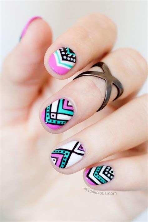 imagenes uñas cortas decoradas dise 241 os perfectos para chicas que tienen u 241 as cortitas