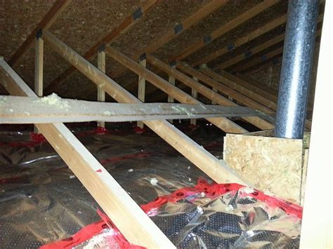 Garage Attic Insulation by Insulate Your Attic With Arctic Clad