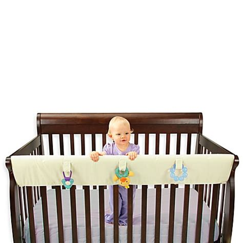 Baby Crib Rail Covers Baby Registry Favorites Gt Leachco 174 Easy Teether Large Convertible Crib Rail Cover From Buy