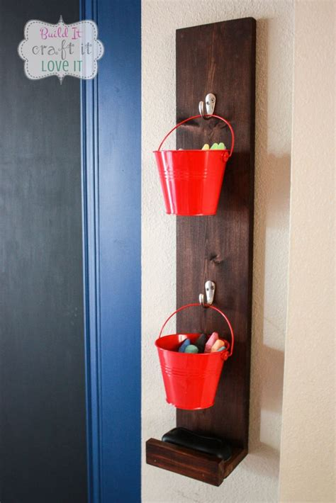 diy chalkboard holder diy chalk and eraser holder craft organizing and