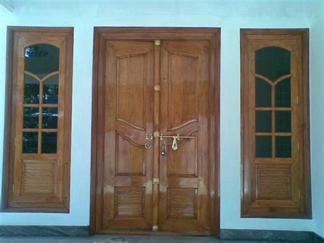 wooden front window design kerala home youtube kerala house main door and french window design joy