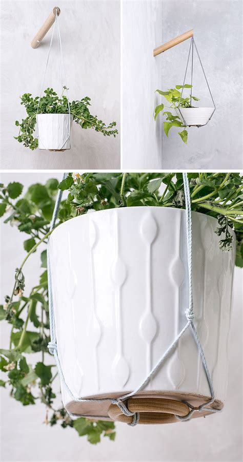 hanging wall planters 10 modern wall mounted plant holders to decorate bare