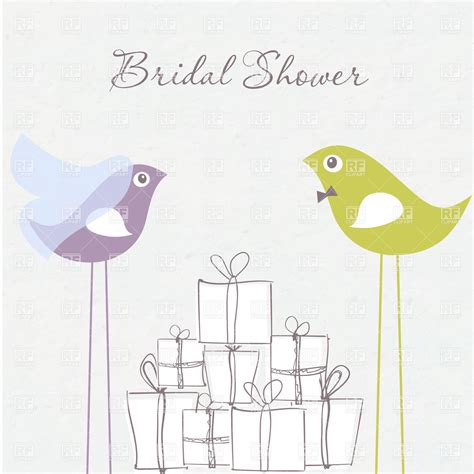 Free Clip Bridal Shower by Bridal Shower Invitation Birds In And Groom