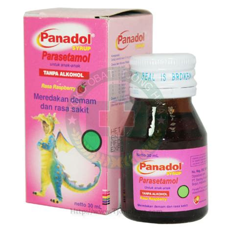 Antangin Syrup Junior 5 S panadol syrup 30ml