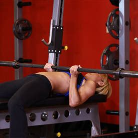regular bench press reverse triceps bench press exercise guide and video