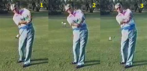 modern golf swing my daily swing the modern total golf swing impact