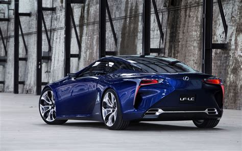 Lexus Lf Lc Blue Concept 2012 Widescreen Car