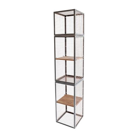 metal bathroom shelving unit narrow metal shelving chrome kitchen wire and stainless