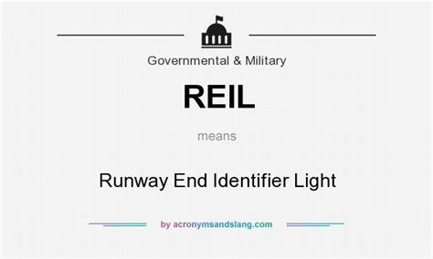 runway end identifier lights reil runway end identifier light in government
