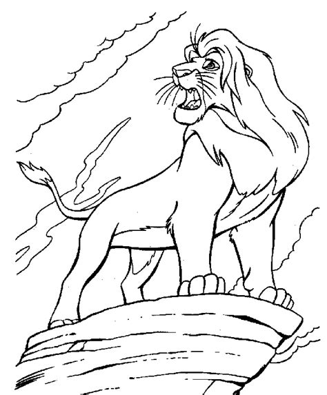 african lion coloring pages africa safari lion coloring page lion safari cartoon