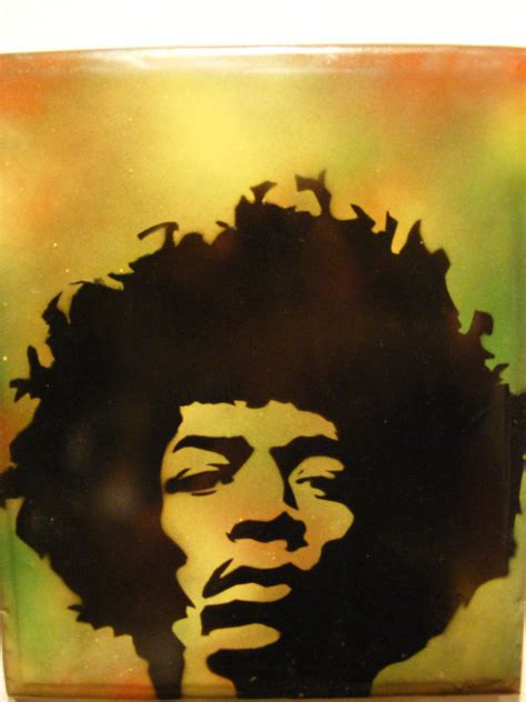 spray paint stencil spray paint stencil on wood jimi by
