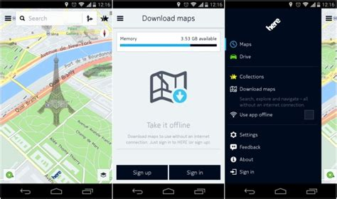 here maps android nokia here maps for android with offline support