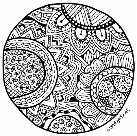 zentangle patterns coloring pages zentangle medallion printable from spotgirl hotcakes