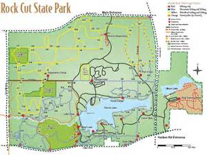 Rock Cut State Park Map by Rock Cut State Park