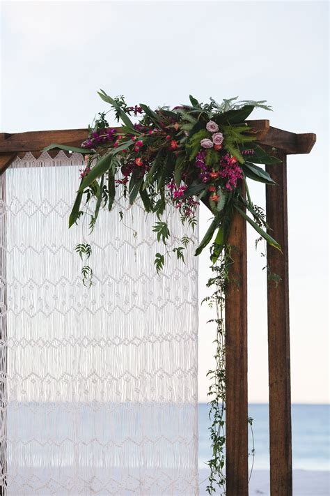 curtain magazines lovestruck weddings twine magazine wooden arbour with