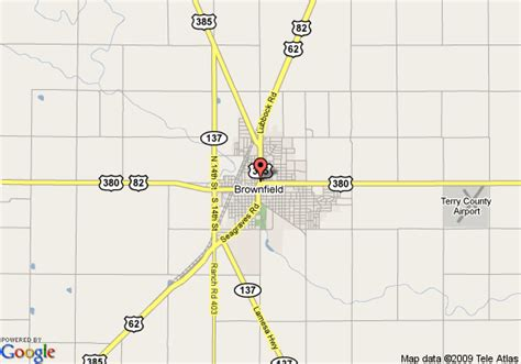 brownfield texas map map of best western caprock inn brownfield