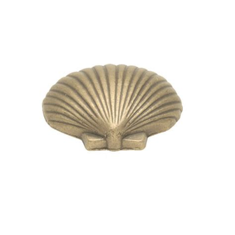 Shell Cabinet Knobs by Belwith Keeler South Seas Clam Shell Knob Dyke S