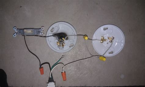 light switch extension cord electrical will the second light in this circuit light