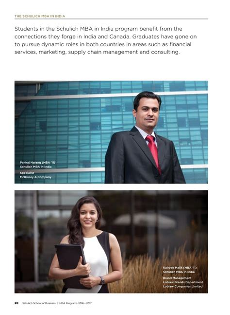 Mba In Brand Management Canada by Schulich Mba Viewbook 2016 By Schulich School Of Business