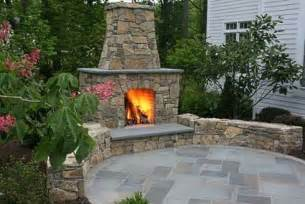 Outdoor Patio Designs With Fireplace The Outdoor Patio Fireplace Homeside To Poolside