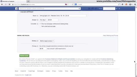 cara membuat iklan di facebook tanpa kartu kredit cara pasang iklan di facebook secara gratis tanpa kartu