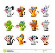 Brinquedos Animais Do Hor&243scopo Chin&234s Com Doces De A&231&250car