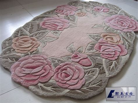 Oval Shaped Area Rugs Shop Popular Flower Shaped Area Rugs From China Aliexpress