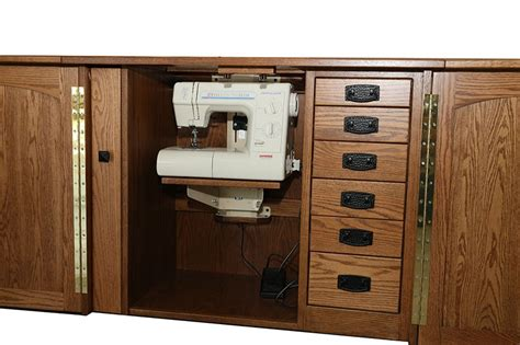 amish furniture heartland sewing machine cabinet sewing