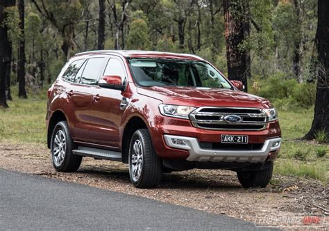 ford everest trend review video performancedrive