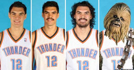 steven adams hair doubles every year and he will
