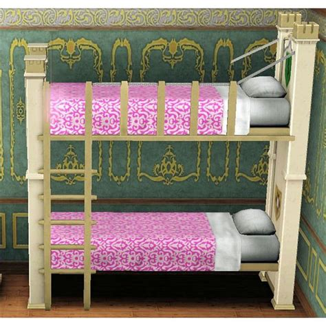 3 High Bunk Beds Save Space With The Sims 3 Bunk Beds For And