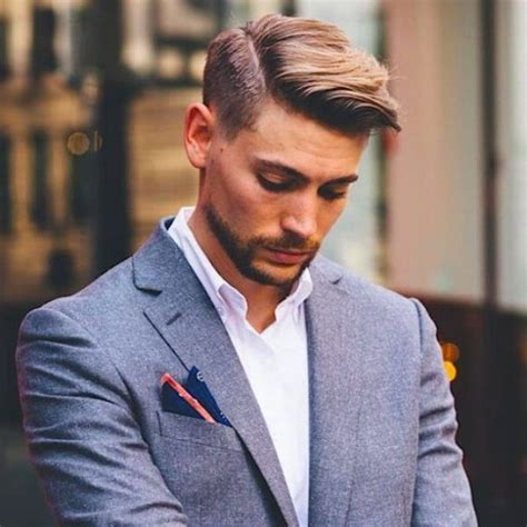 the most suitable hairstyles for boys with short and oval faces meer dan 1000 idee 235 n over side part men op pinterest