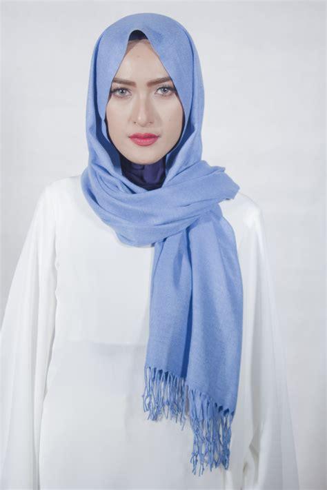Pashmina Denim Umama Scarf denim pashmina scarf markamarie