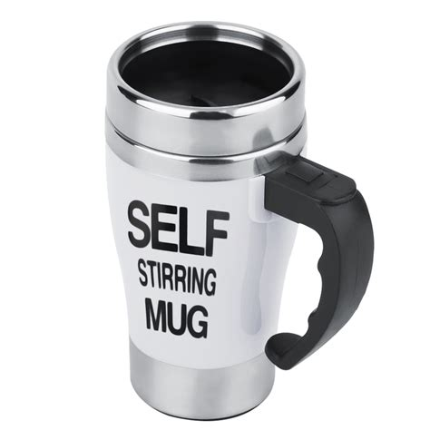 Self Mug Stirring stainless lazy self stirring mug auto mixing tea coffee