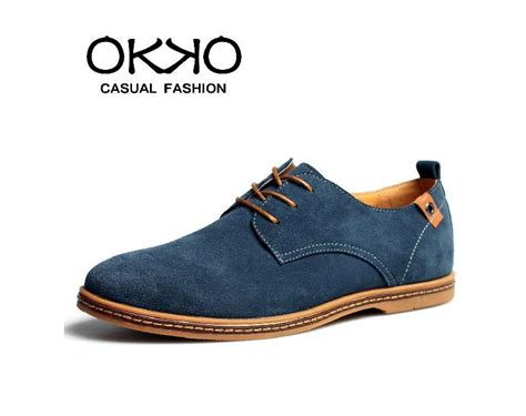 business casual shoes okko nubuck leather s business casual suede fashion