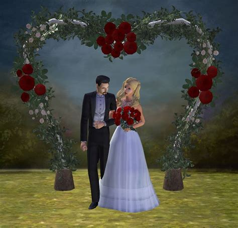 Wedding Arch In Sims 3 by 17 Best Images About Sims 2 Weddings Arches Flower
