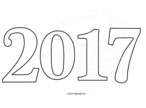 new year coloring pages happy new year 2017 celebration number coloring page