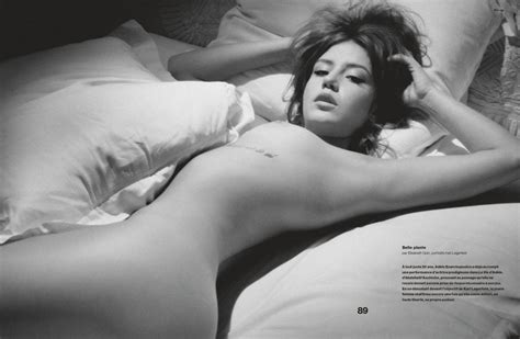 Adele Exarchopoulos Poses Nude
