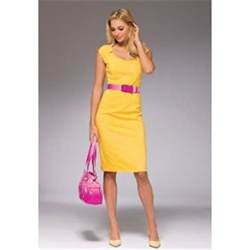 what color shoes look with yellow dress dress edin
