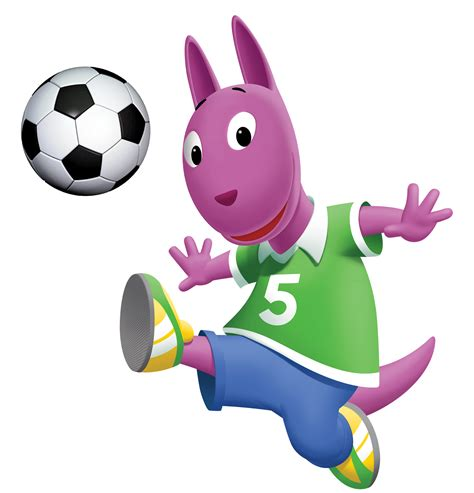 Backyardigans Soccer Characters April 2016