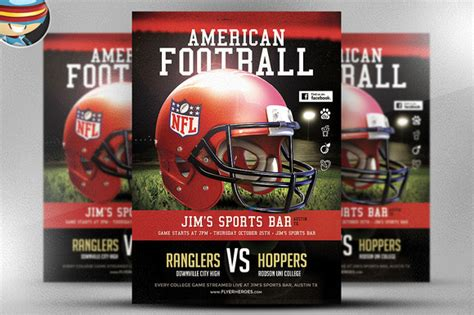 football c flyer template american football flyer template 1 flyer templates on