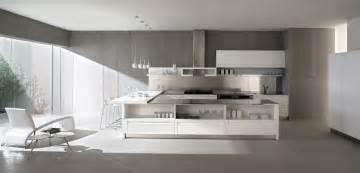 concrete kitchen design concrete walls white kitchen interior design ideas