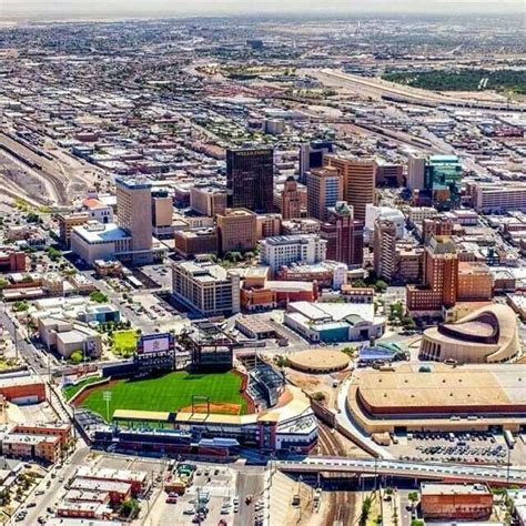 El Patio Tx by El Paso Our Downtown Shines With Our New Baseball
