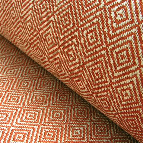 cheap upholstery fabric uk upholstery fabric mora brick red