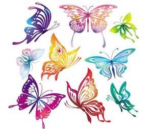 40 beautiful butterflies vector designfollow