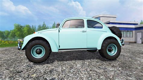 buggy volkswagen 2015 volkswagen beetle 1966 v2 0 buggy for farming simulator 2015