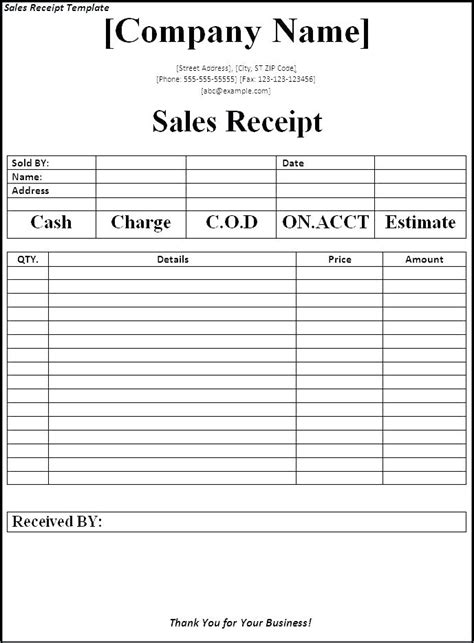 Free Receipt Book Template Word by Receipt Book Template Word Kinoroom Club