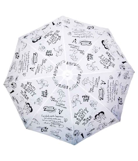 doodle price in india 2014 cheeky chunk white black doodle umbrella buy